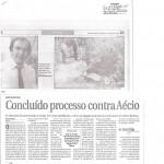 Reportagem - Concluído processo contra Aécio