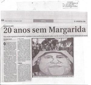 Reportagem - 20 anos sem Margarida