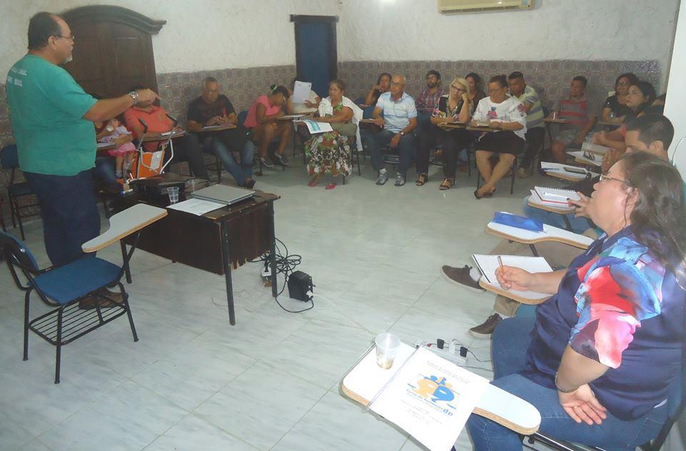 Prof. José de Melo Neto na Oficina de Direitos Humanos e Cidadania