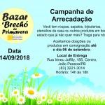 Brechó Primavera 2018