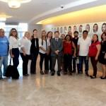 15ª turma do Curso de Formação de Juristas Populares visitando o Tribunal de Justiça da Paraíba