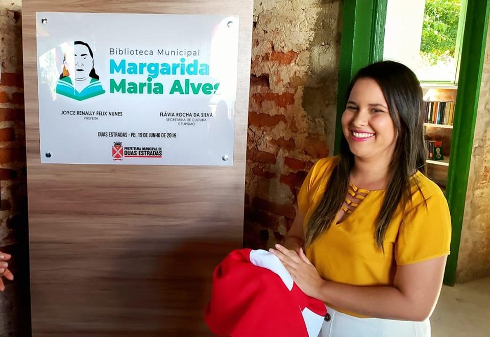Prefeita de Duas Estradas, Joyce Renally